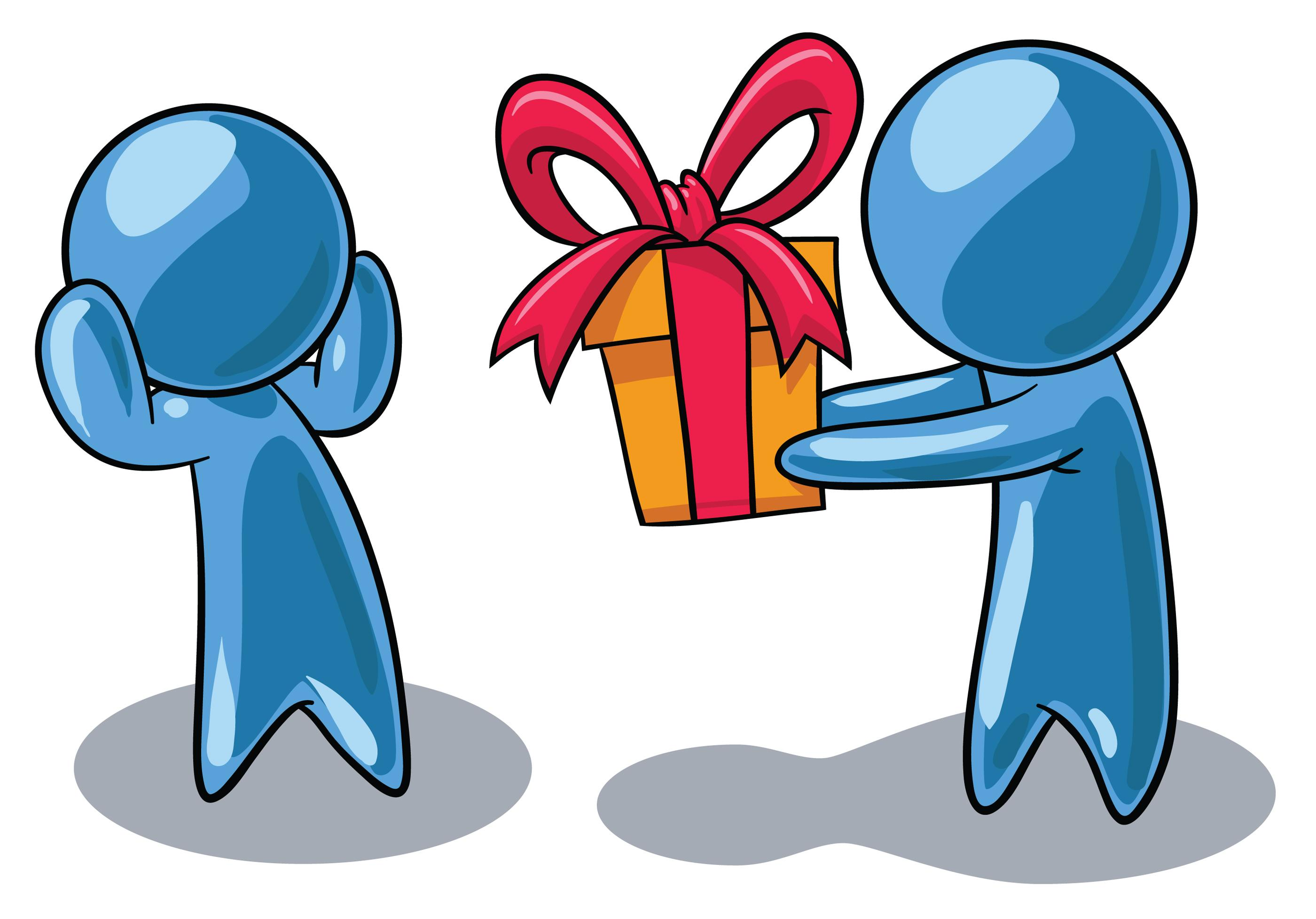 Give present clipart